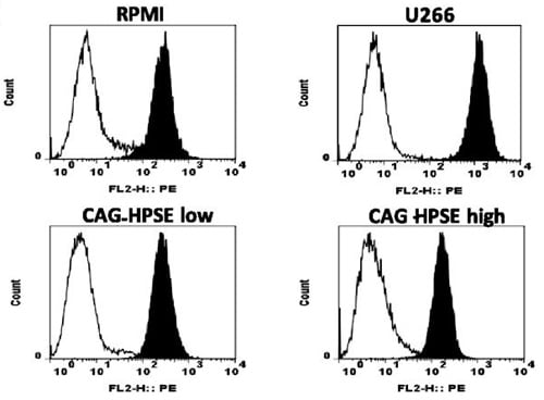 Flow Cytometry - Anti-Insulin Receptor alpha antibody [47-9] (ab982)