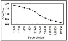 Sandwich ELISA - IgM antibody [KT38] (HRP) (ab106742)