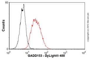 Flow Cytometry - Anti-DDIT3 [9C8] antibody (ab11419)