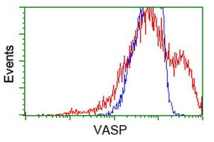 Flow Cytometry - Anti-VASP antibody [1H8] (ab114029)