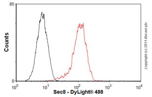 Flow Cytometry-Anti-Sec8 antibody [14G1](ab13254)