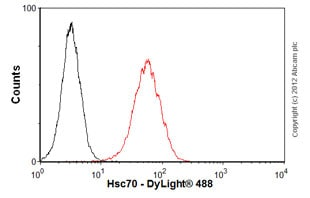 Flow Cytometry-Anti-Hsc70 antibody [13D3](ab2788)