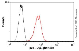 Flow Cytometry - p23 antibody [JJ3] (ab2814)