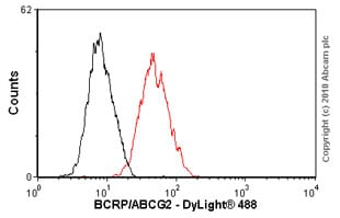 Flow Cytometry-BCRP/ABCG2 antibody [BXP-53](ab24115)