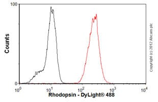Flow Cytometry-Anti-Rhodopsin antibody [RET-P1](ab3267)