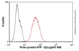 Flow Cytometry-Anti-Prion protein PrP antibody [EP1802Y](ab52604)
