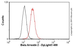 Flow Cytometry - Beta Arrestin 2 antibody (ab54790)