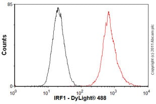Flow Cytometry-Anti-IRF1 antibody(ab55330)