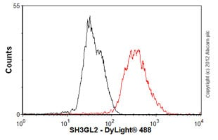 Flow Cytometry-Anti-SH3GL2 antibody(ab55702)