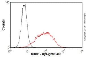 Flow Cytometry-G3BP antibody(ab56574)