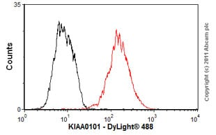 Flow Cytometry - Anti-KIAA0101 antibody (ab56773)