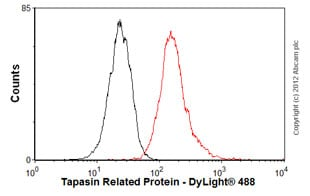 Flow Cytometry - Anti-Tapasin Related Protein antibody (ab57411)