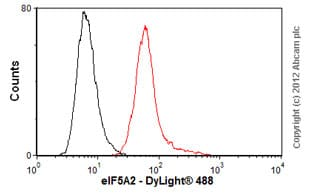 Flow Cytometry-Anti-eIF5A2 antibody(ab57421)
