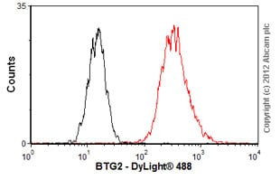 Flow Cytometry-Anti-BTG2 antibody(ab58219)