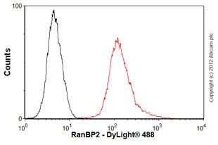 Flow Cytometry-Anti-RanBP2 antibody [mAbcam58385](ab58385)