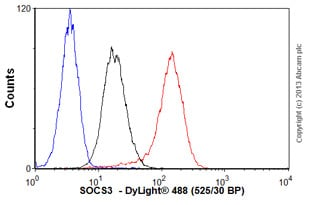 Flow Cytometry - Anti-SOCS3  antibody [1B2] (ab78341)