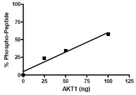 Functional Studies - AKT1 protein (Active) (ab79792)