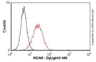 Flow Cytometry - NCAM antibody [RNL-1] (ab9018)