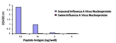 ELISA - Influenza A Virus Nucleoprotein antibody (ab91648)