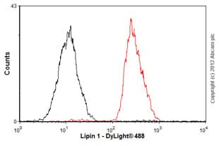 Flow Cytometry-Anti-Lipin 1 antibody [EPR3725](ab92316)
