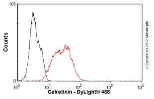 Flow Cytometry - Anti-Calretinin antibody [EP1798] (ab92341)