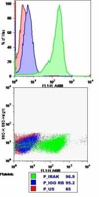 Flow Cytometry - Anti-IRAK antibody (ab238)