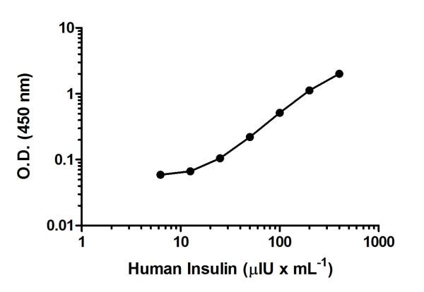 Sandwich ELISA - Insulin Human ELISA Kit (ab100578)