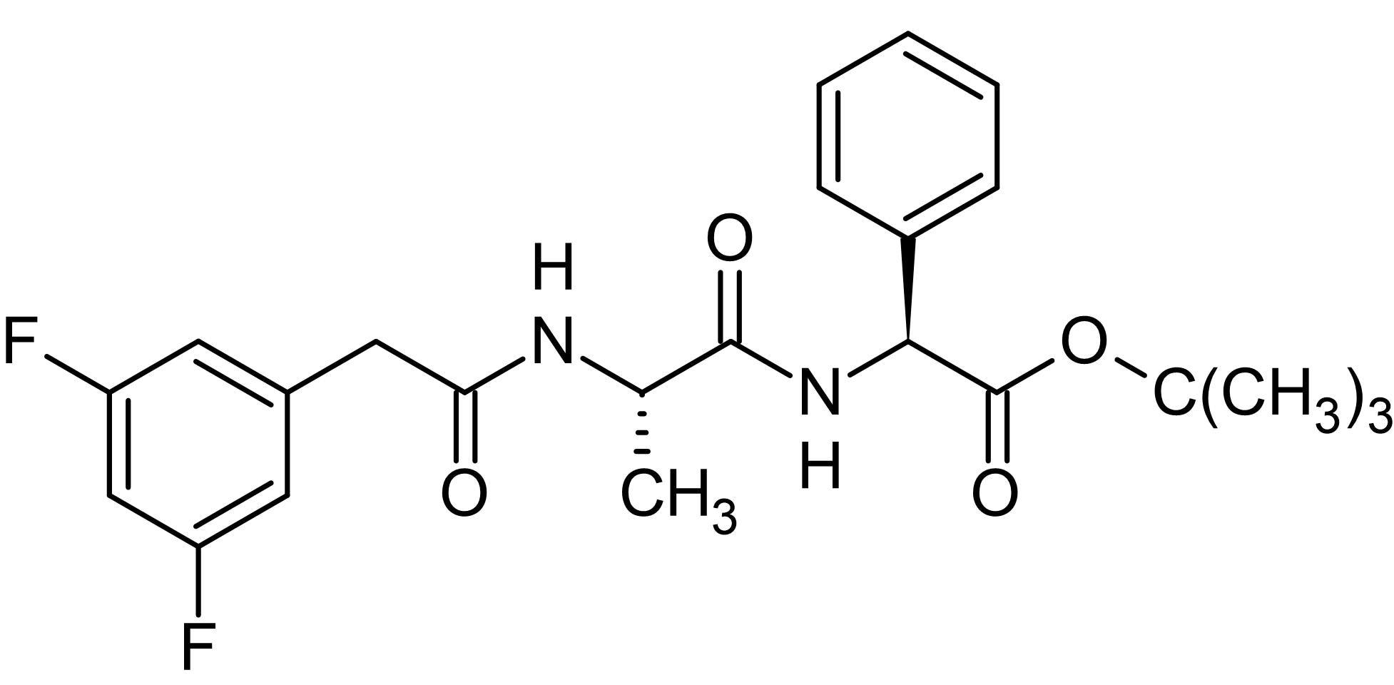 Chemical Structure - DAPT, gamma-Secretase inhibitor (ab120633)