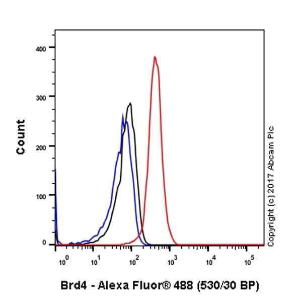 流式细胞术-抗Brd4抗体[EPR5150(2)](ab128874)