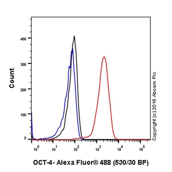 流式细胞术(细胞内)-抗Oct4抗体[EPR17929]-芯片级(ab181557)