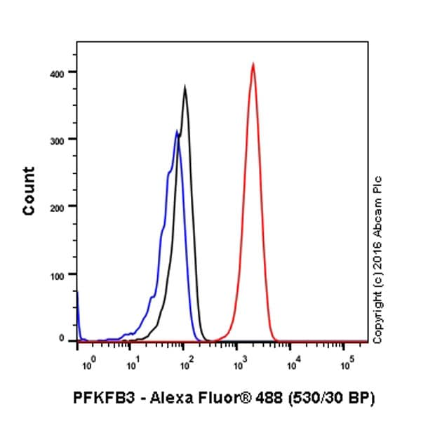 Flow Cytometry - Anti-PFKFB3 antibody [EPR12594] (ab181861)