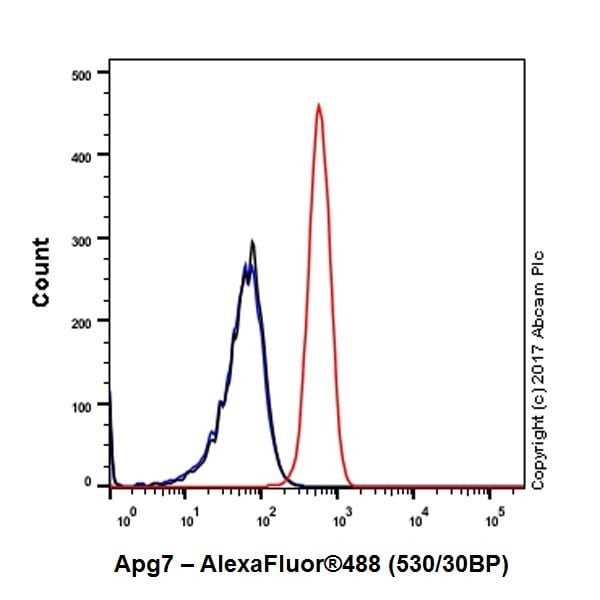Flow Cytometry - Anti-Apg7 antibody [EPR20384] (ab183188)
