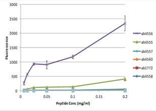 Peptide Array - Anti-Histone H3 (di methyl K79) antibody - ChIP Grade (ab3594)