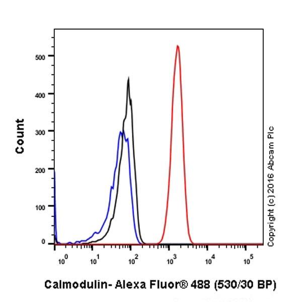 流式细胞术-抗钙调素1/2/3抗体[EP799Y]-C-末端(ab45689)
