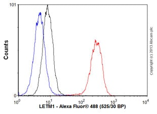 Flow Cytometry - Anti-LETM1 antibody (ab55434)