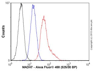 Flow Cytometry - Anti-MADH7 antibody (ab55493)