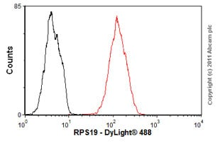 Flow Cytometry - Anti-RPS19 antibody (ab57643)