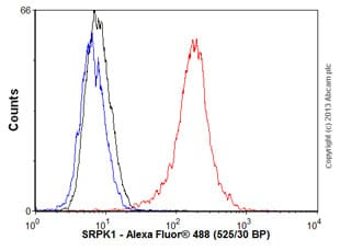 Flow Cytometry - Anti-SRPK1 antibody (ab58002)