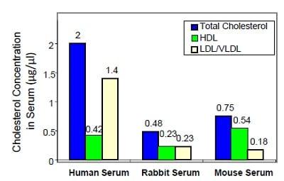 Functional Studies - HDL and LDL/VLDL Cholesterol Assay Kit (ab65390)