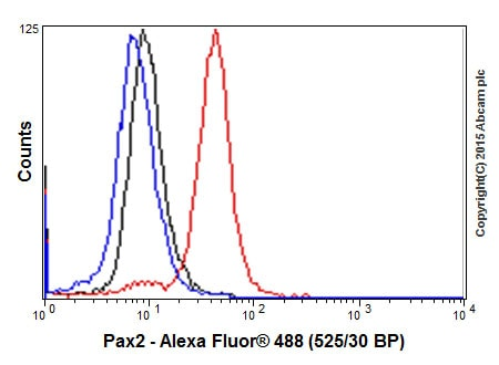 Flow Cytometry - Anti-Pax2 antibody [EP3251] (ab79389)